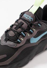 Nike Sportswear - AIR MAX 270  - Sneakers basse - black/cerulean/thunder grey/barely volt - 2