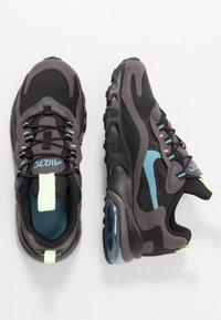 Nike Sportswear - AIR MAX 270  - Sneakers basse - black/cerulean/thunder grey/barely volt - 0