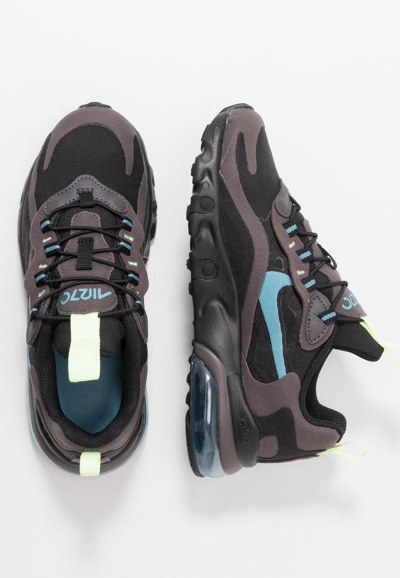 Nike Sportswear - AIR MAX 270  - Sneakers basse - black/cerulean/thunder grey/barely volt