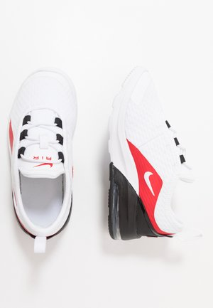 AIR MAX MOTION 2 - Matalavartiset tennarit - white/university red/black