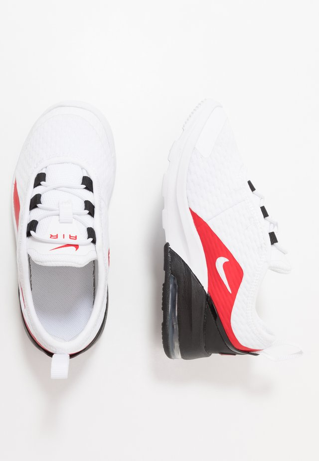 AIR MAX MOTION 2 - Trainers - white/university red/black