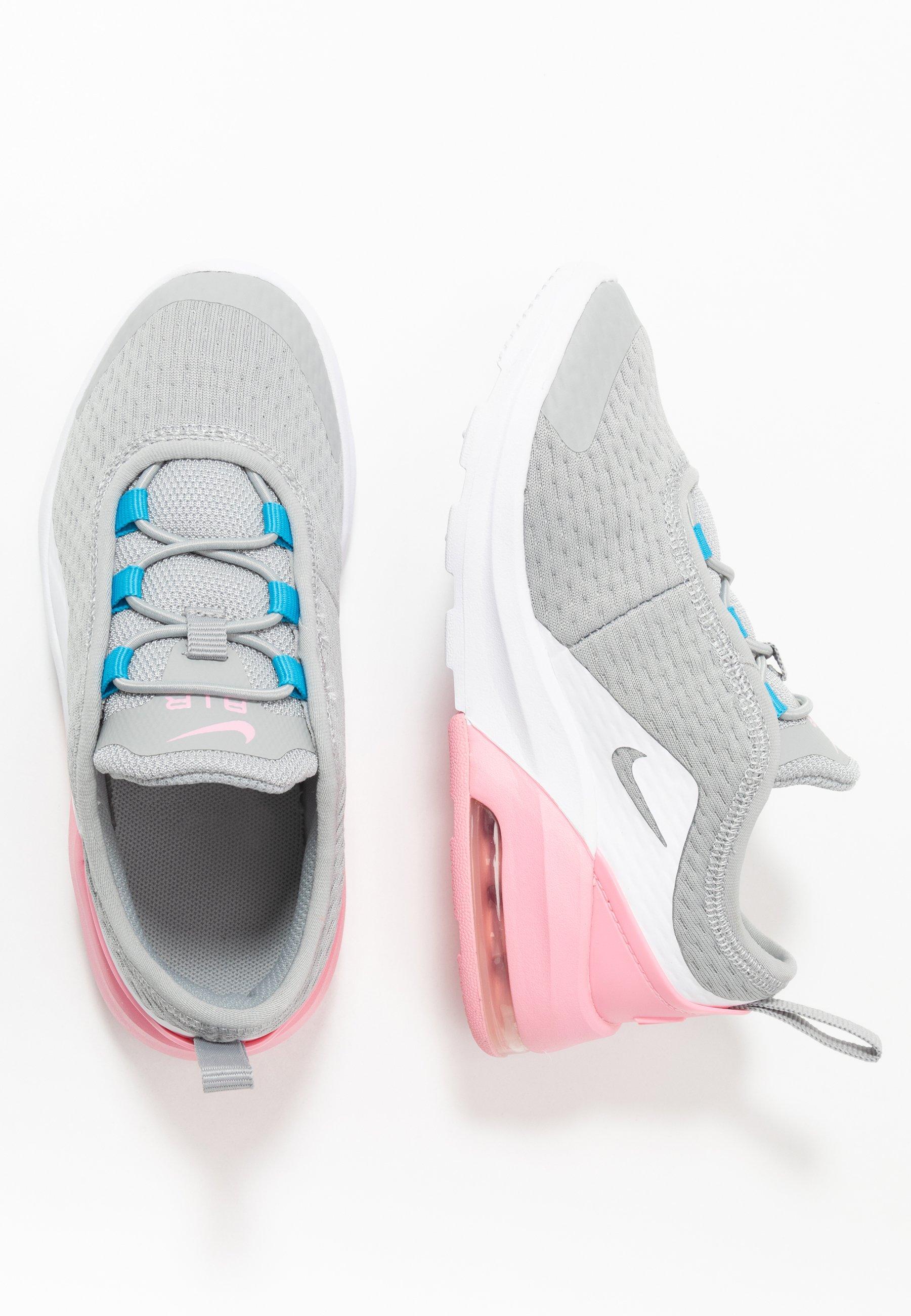 AIR MAX MOTION 2 Sneakersy niskie light smoke greymetallic silverpinklaser blue