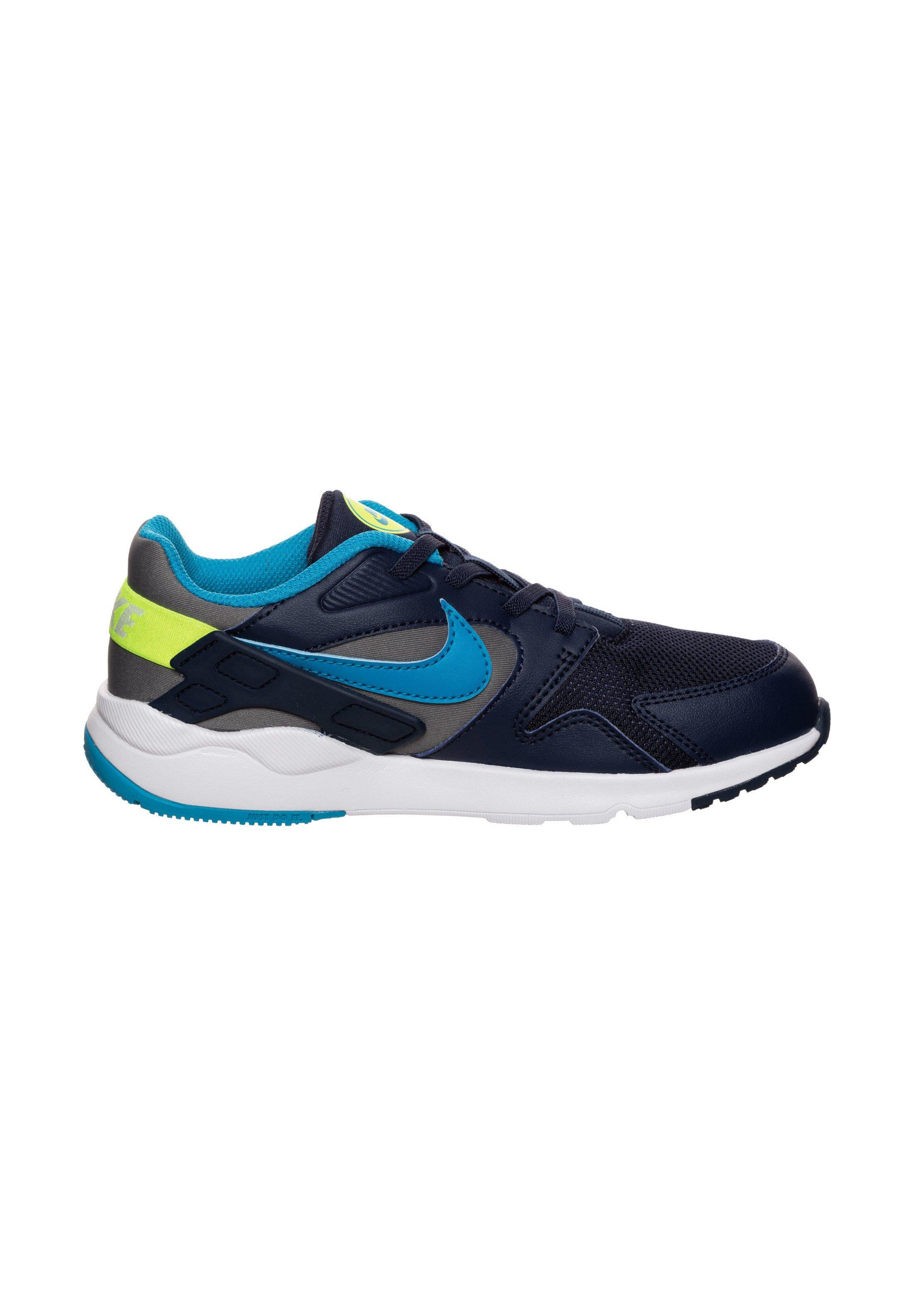 Nike Sportswear LD VICTORY - Sneakersy niskie - smoke grey/laser blue/midnight navy
