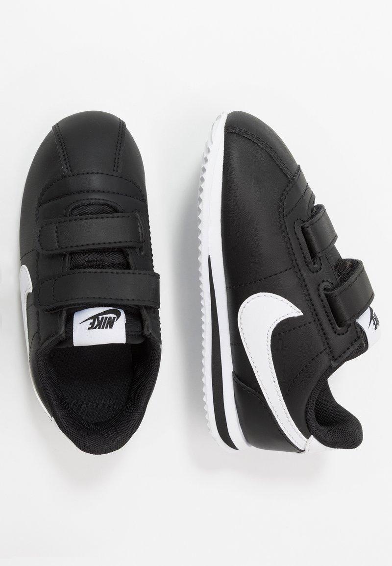 Nike Sportswear - CORTEZ BASIC - Zapatillas - black/white