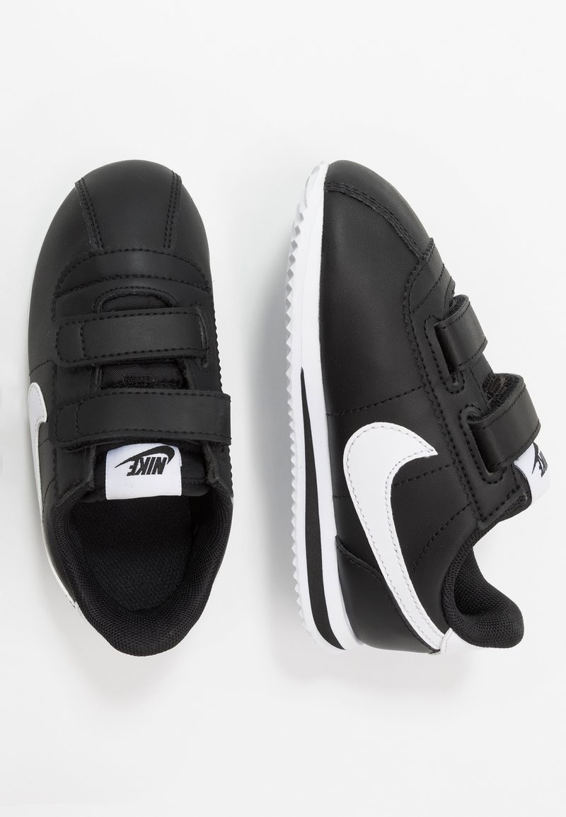 Nike Sportswear - CORTEZ BASIC - Trainers - black/white