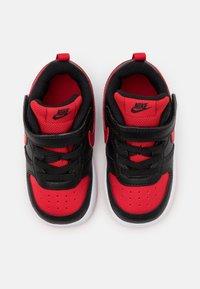 Nike Sportswear - COURT BOROUGH 2 - Sneakers laag - black/university red/white - 3