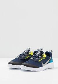 Nike Sportswear - RENEW 55 - Sneakers basse - midnight navy/light smoke grey/lemon/laser blue - 3