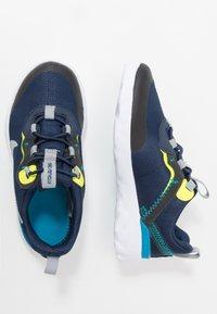Nike Sportswear - RENEW 55 - Sneakers basse - midnight navy/light smoke grey/lemon/laser blue - 0