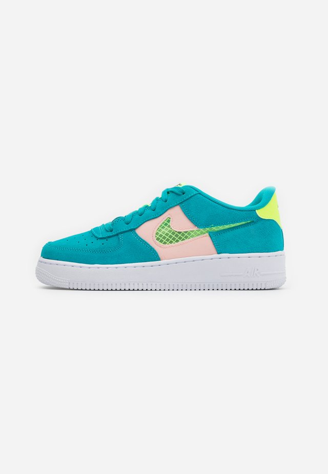 AIR FORCE LV8 FRESH AIR - Matalavartiset tennarit - oracle aqua/ghost green/washed coral/white