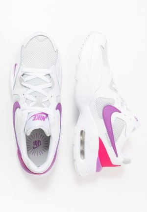 NIKE AIR MAX FUSION - Tenisky - white/purple/watermelon/grey fog