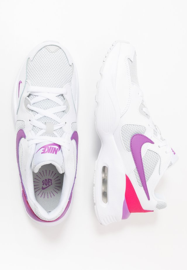 NIKE AIR MAX FUSION - Trainers - white/purple/watermelon/grey fog