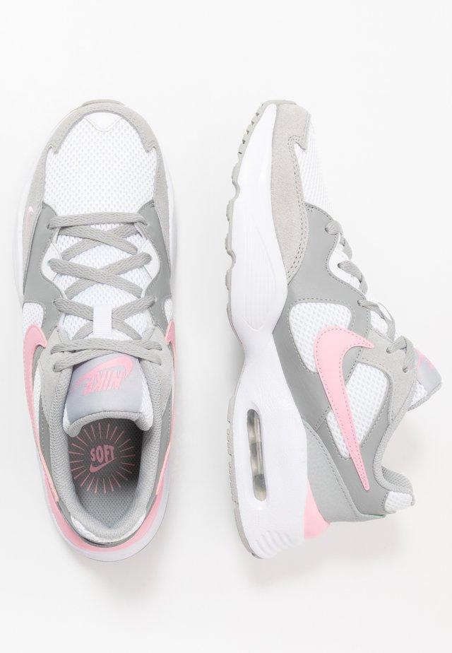 NIKE AIR MAX FUSION - Sneakers laag - light smoke grey/pink/white