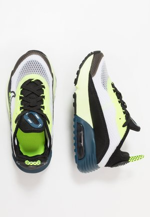 AIR MAX 2090 - Sneakersy niskie - white/black/volt/blue force