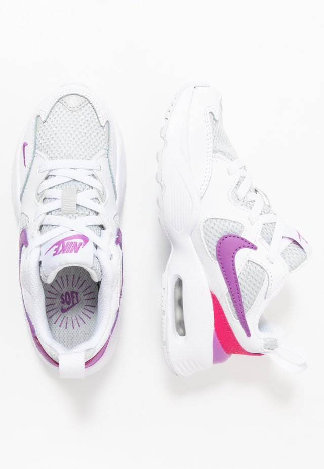 AIR MAX FUSION - Sneakers laag - white/purple/watermelon/grey fog