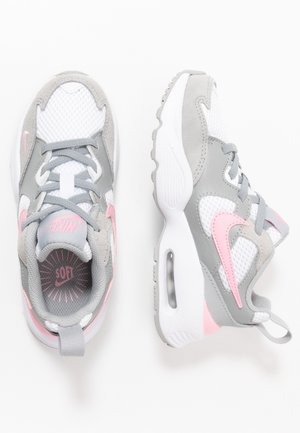 AIR MAX FUSION - Baskets basses - light smoke grey/pink/white