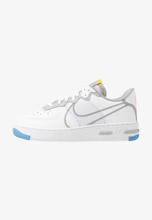 AIR FORCE 1 REACT - Sneakers basse - white/light smoke grey/universe red/universe gold/universe blue/gym blue