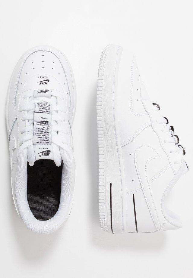 FORCE 1 - Zapatillas - white/black