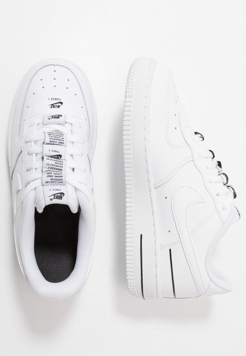 Nike Sportswear - FORCE 1 - Sneakers laag - white/black