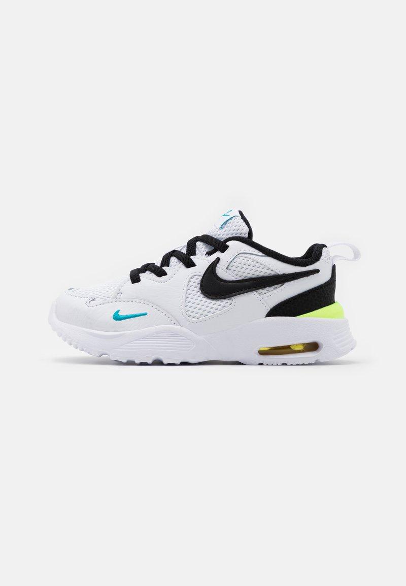 Nike Sportswear - AIR MAX FUSION UNISEX - Sneakers laag - white/black/oracle aqua/pollen rise