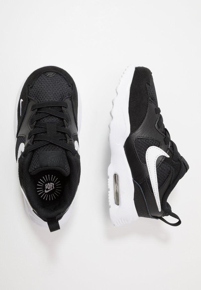 Nike Sportswear - AIR MAX FUSION - Baskets basses - black/white
