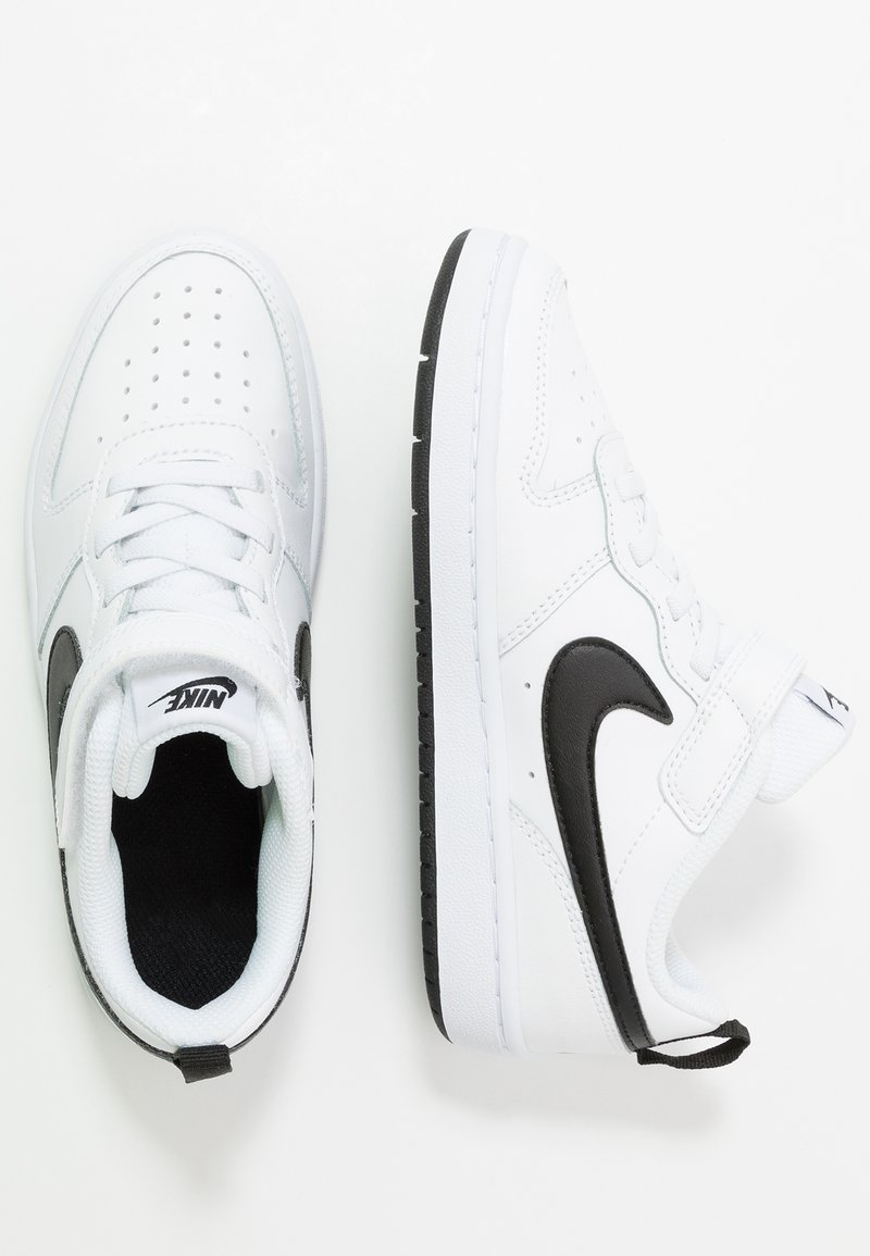 Nike Sportswear - COURT BOROUGH 2 - Baskets basses - white/black