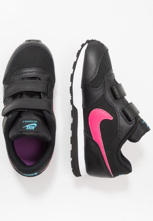 MD RUNNER 2 - Zapatillas - black/watermelon/blue fury/purple