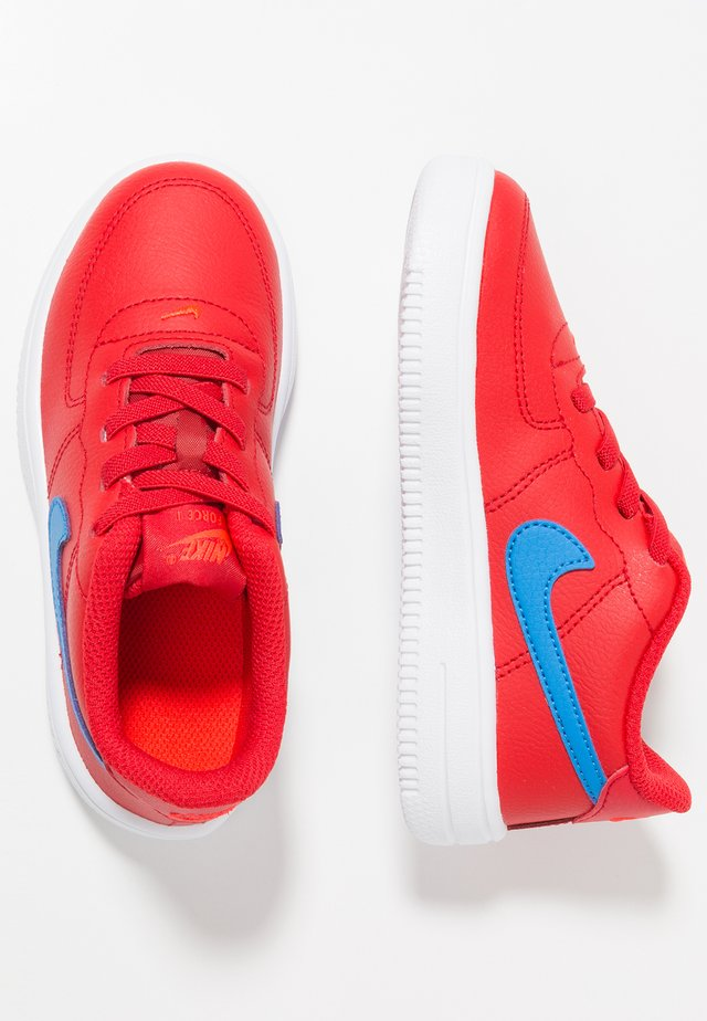FORCE 1 18 - Sneakers laag - university red/photo blue/bright crimson