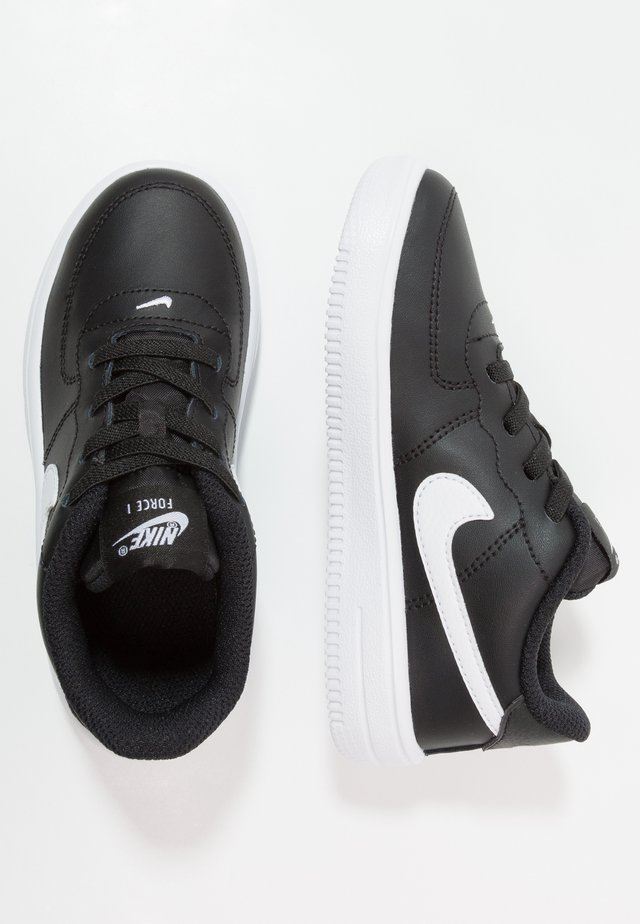 FORCE 1 18 - Sneakers - black/white