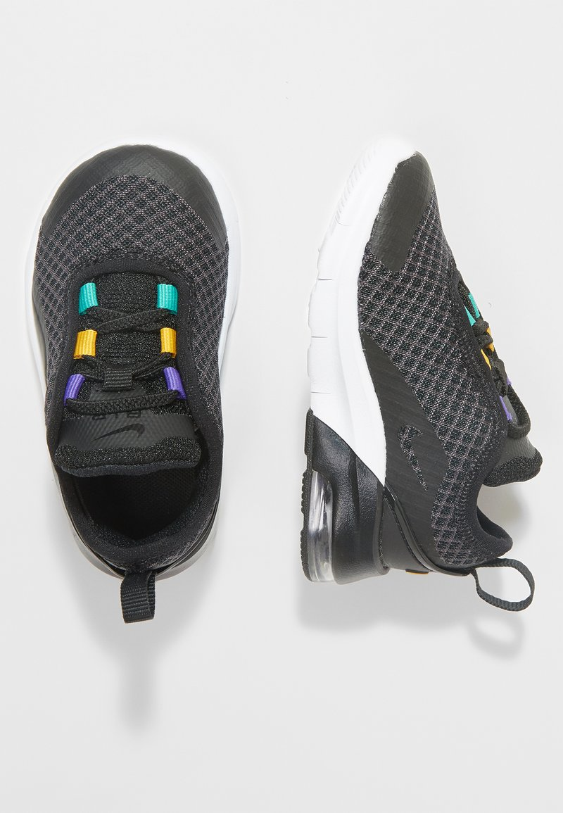 Nike Sportswear - AIR MAX MOTION 2  - Lauflernschuh - black/flash crimson/gold/psychic purple