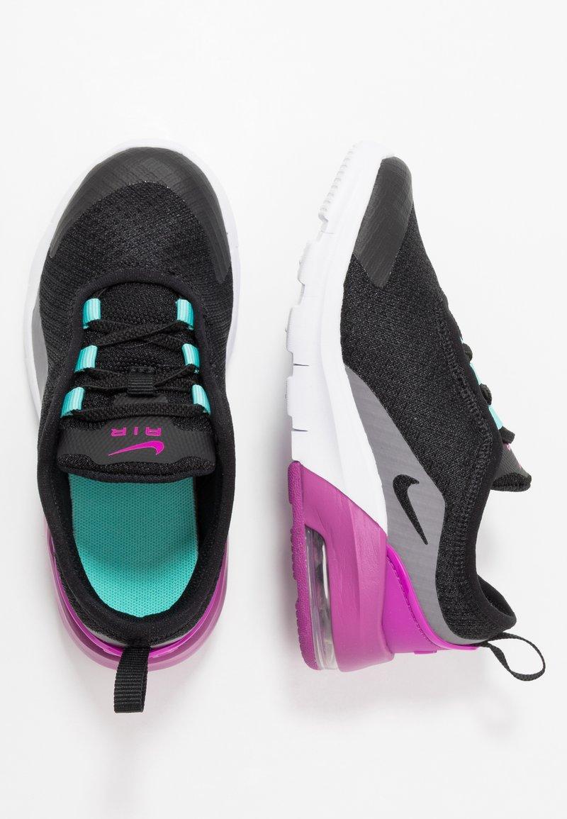 Nike Sportswear - AIR MAX MOTION 2  - Slippers - black/hyper violet/gunsmoke/aurora green