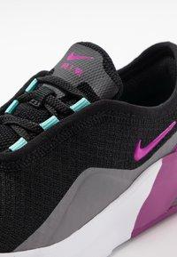 Nike Sportswear - AIR MAX MOTION 2  - Slippers - black/hyper violet/gunsmoke/aurora green - 2