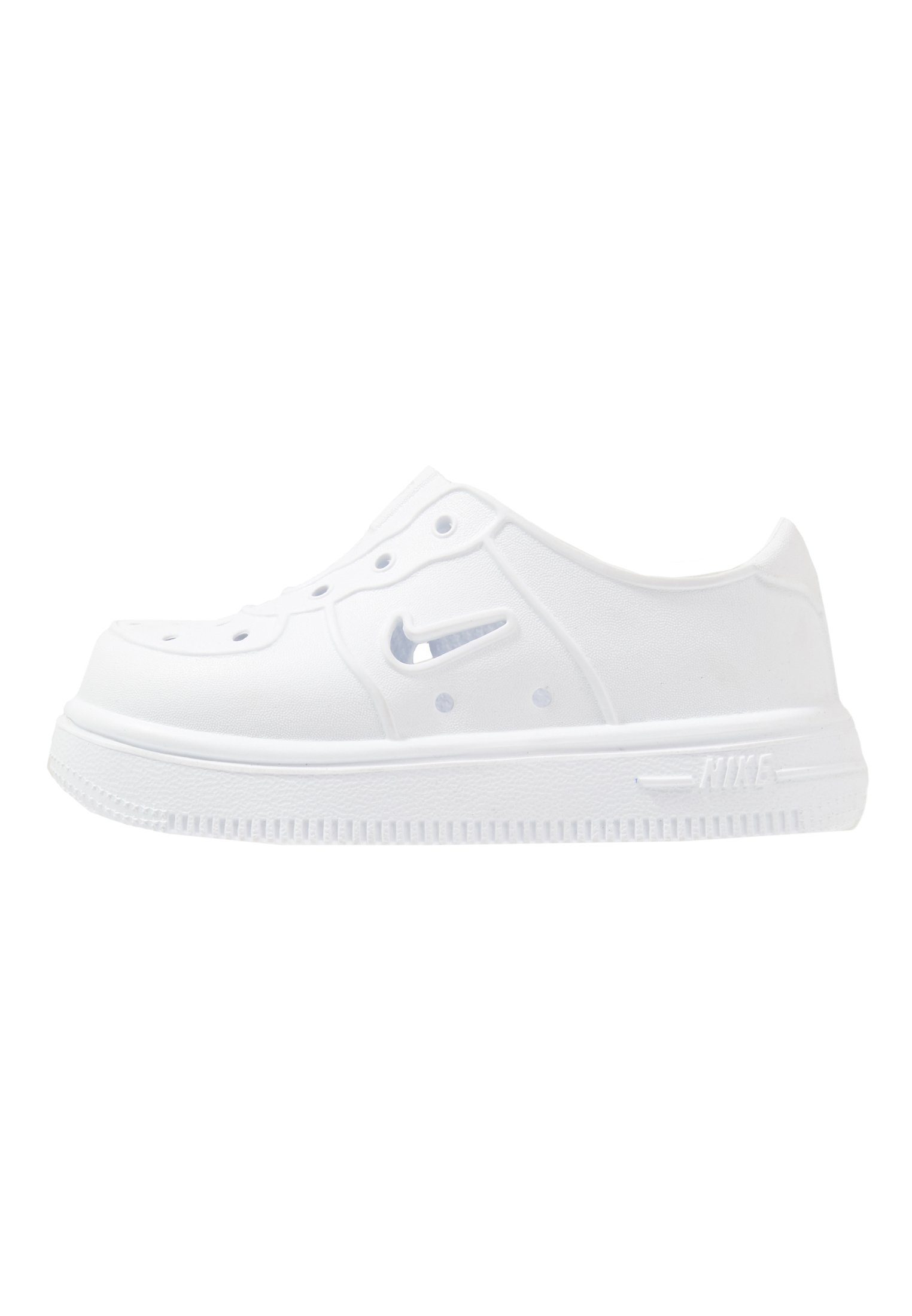 Nike Sportswear FOAM FORCE 1 - Obuwie do nauki chodzenia - white