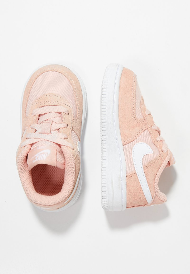 Nike Sportswear - FORCE 1 - Baby shoes - coral stardust/white