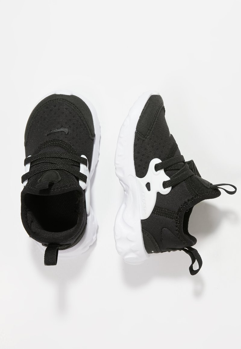 Nike Sportswear - REACT PRESTO - Lauflernschuh - black/white