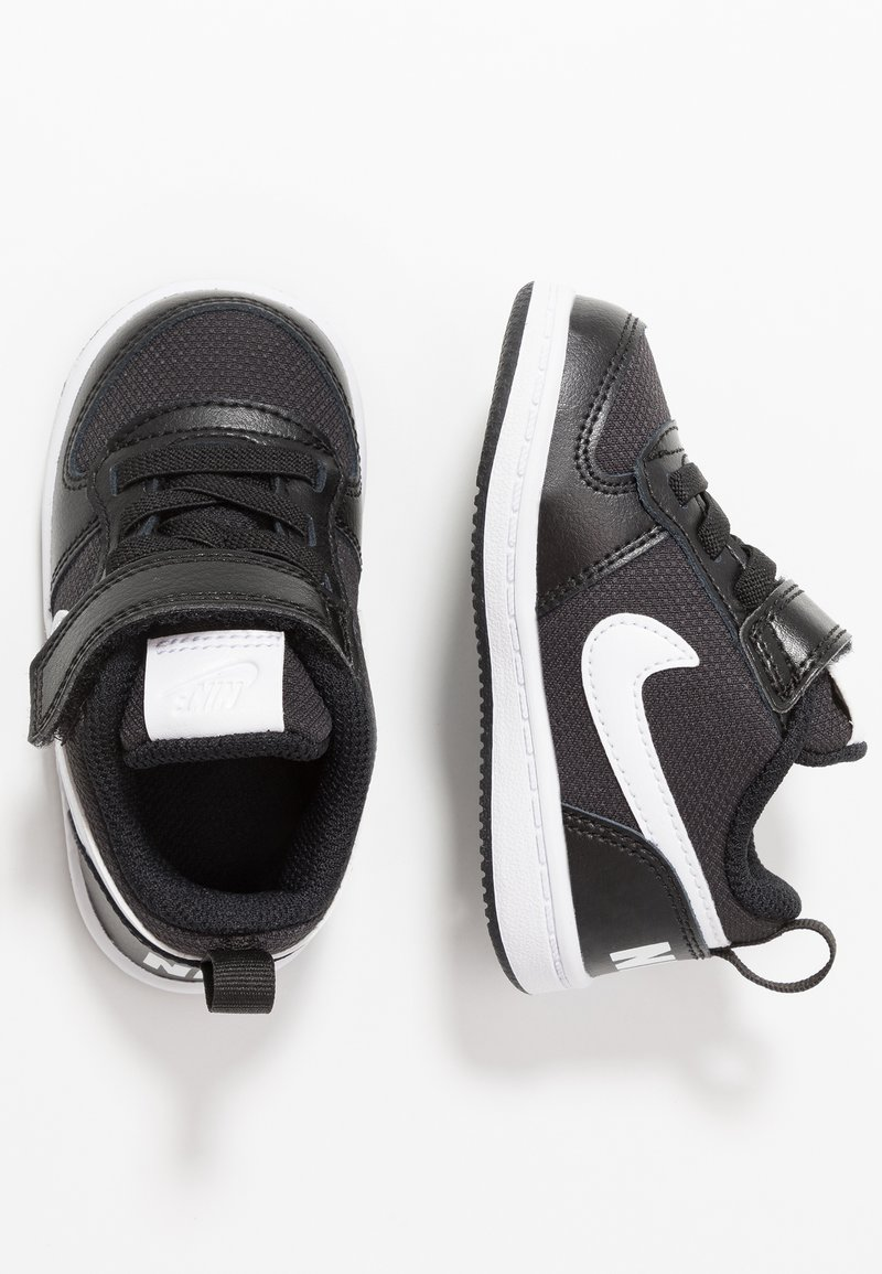 Nike Sportswear - COURT BOROUGH LOW - Sneakers - black/white