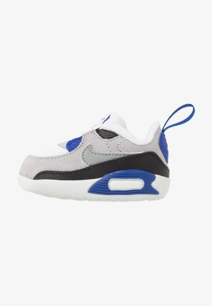 MAX 90 CRIB - Krabbelschuh - white/particle grey/light smoke grey/hyper blue/black