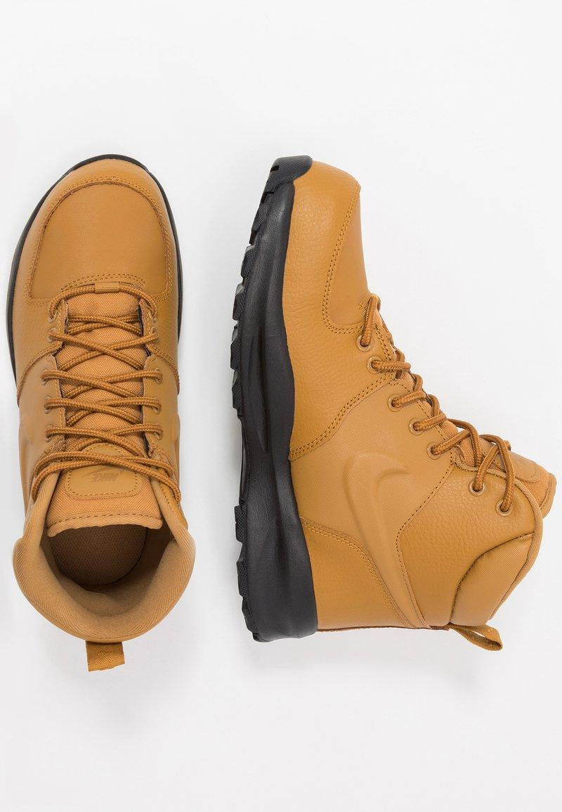 Nike Sportswear - MANOA '17 - Korkeavartiset tennarit - wheat/black