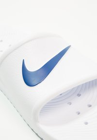 Nike Sportswear - KAWA SHOWER - Sandály do bazénu - white/blue moon - 5