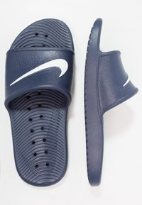 Nike Sportswear - KAWA SHOWER - Chanclas de baño - midnight navy/white - 1