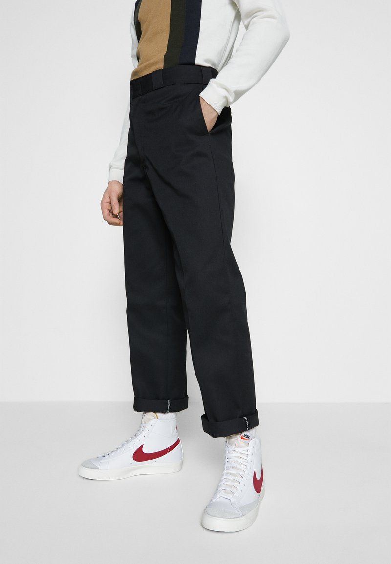 Nike Sportswear - BLAZER MID '77 - Sneakers hoog - white/worn brick/sail