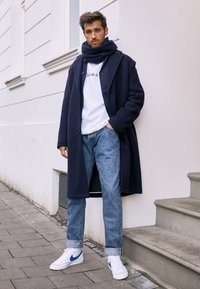 Nike Sportswear - BLAZER MID '77 - Höga sneakers - white/racer blue/sail - 3
