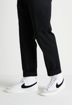 BLAZER MID '77 - Korkeavartiset tennarit - white/black