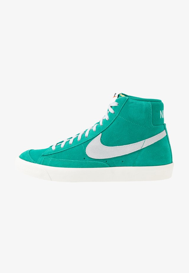 BLAZER MID '77 - Zapatillas altas - neptune green/pure platinum/sail
