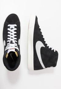 Nike Sportswear - BLAZER MID '77 - High-top trainers - black/pure platinum/sail/white - 6