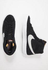 Nike Sportswear - BLAZER MID '77 - High-top trainers - black/photon dust - 1