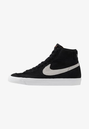 BLAZER MID '77 - Korkeavartiset tennarit - black/photon dust