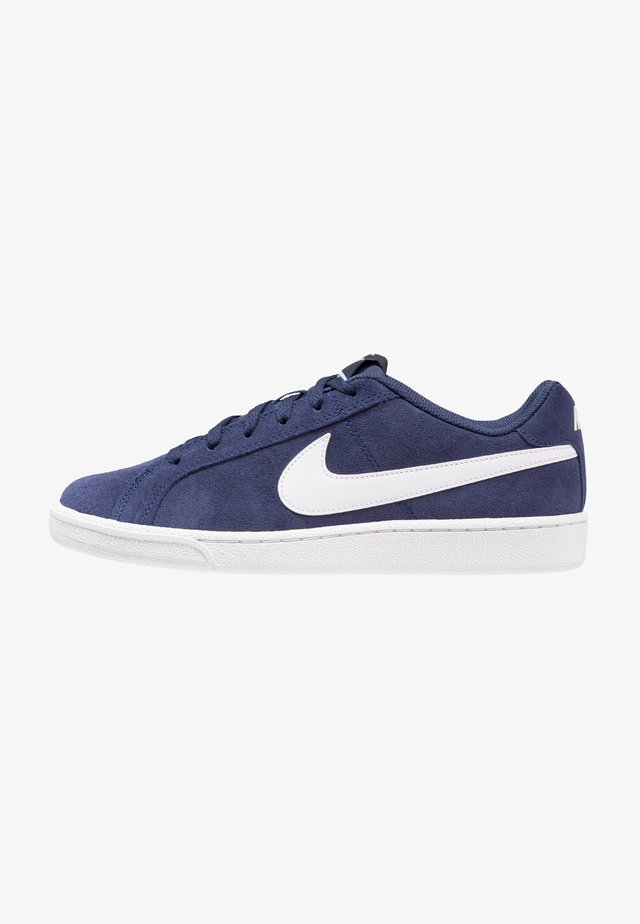 COURT ROYALE SUEDE - Sneakersy niskie - midnight navy/white