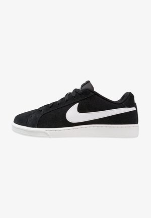 COURT ROYALE SUEDE - Tenisky - black/white