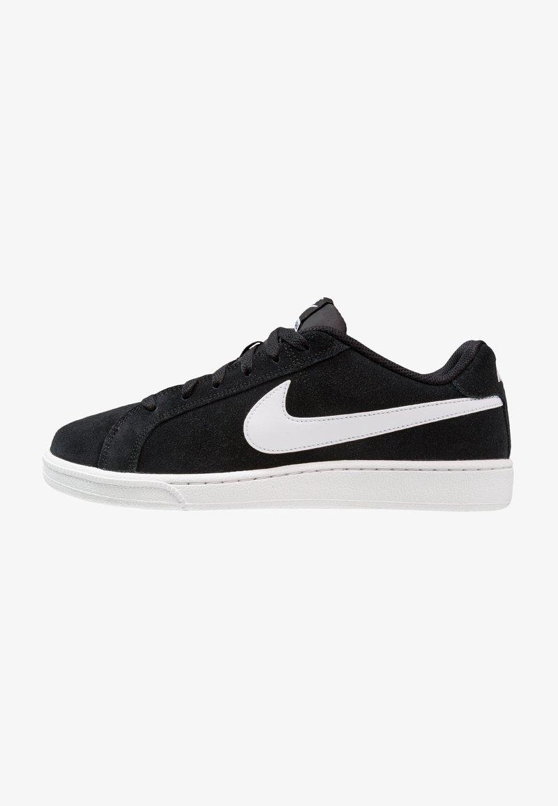 Nike Sportswear - COURT ROYALE SUEDE - Joggesko - black/white