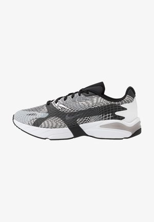 GHOSWIFT - Sneakers basse - white/black/wolf grey/anthracite/total orange